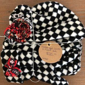 Winter Hat, Gloves & Scarf Set